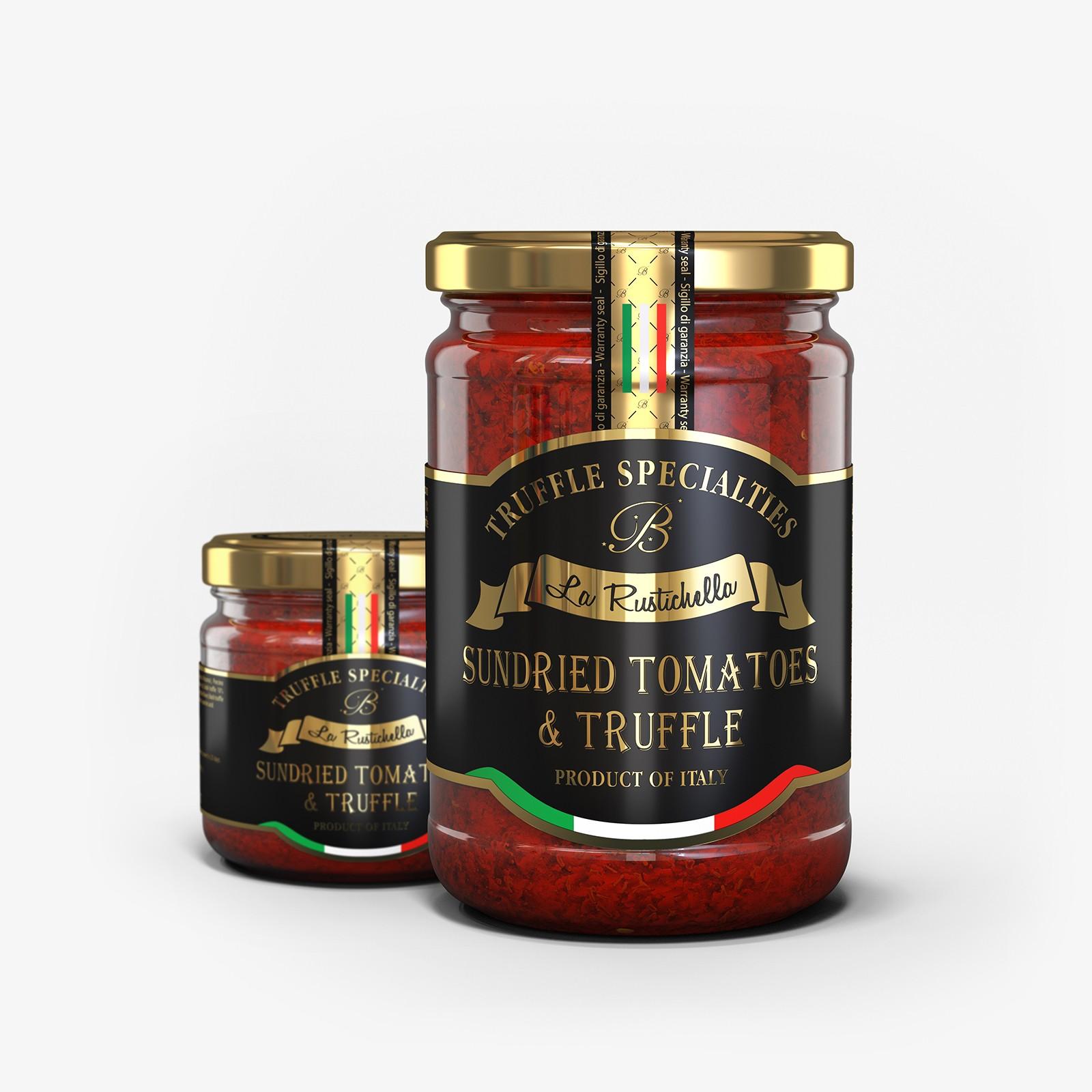 Tomates secos y trufa
