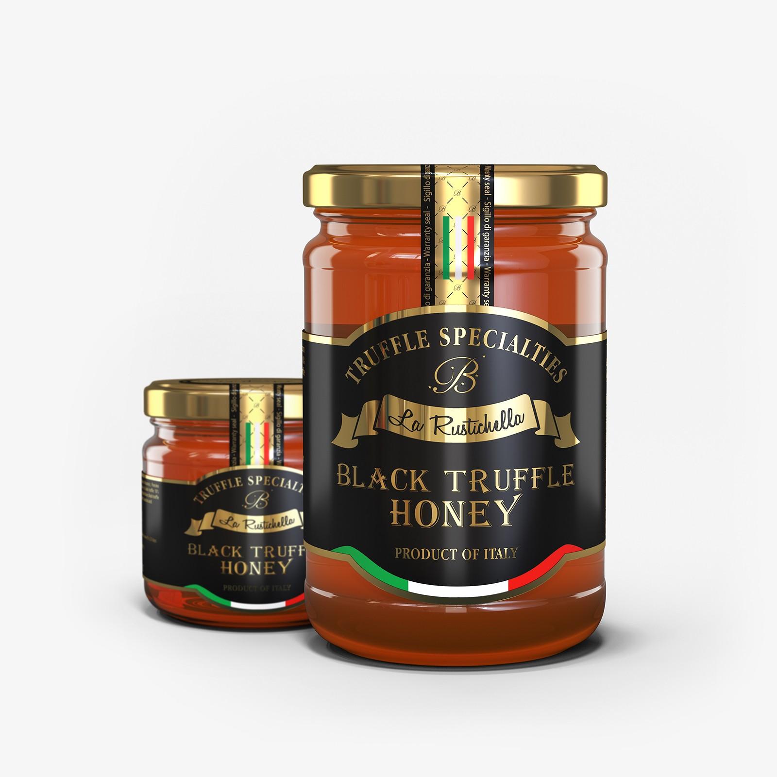Black truffle honey