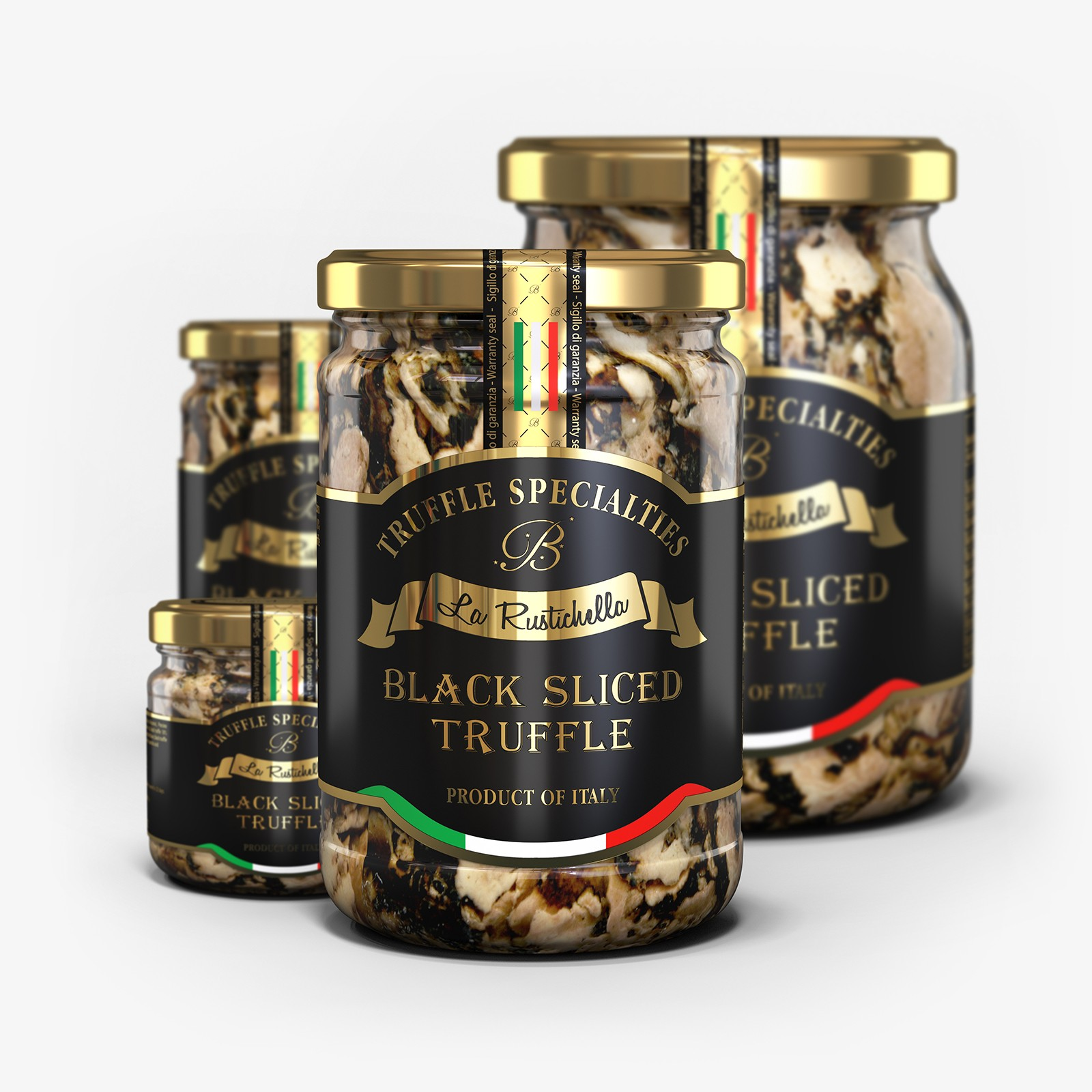 Black Sliced Truffle
