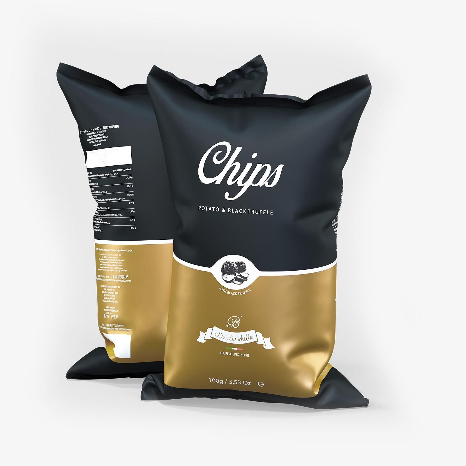 Black Truffle Chips 3 Pack
