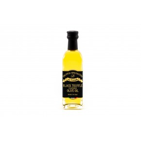 Olio d'oliva aromatizzato al tartufo nero 60ml -La Rustichella-