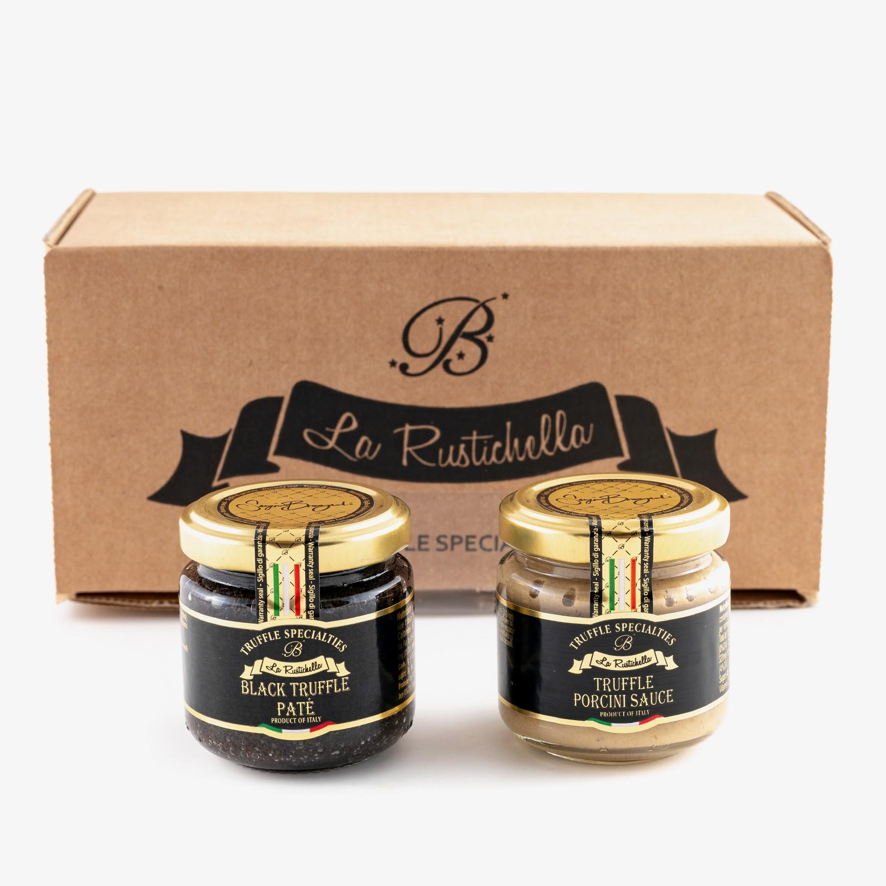 Porcino truffle sauce &...
